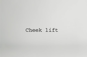 cheek lift